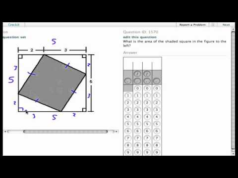 Grockit SAT Math - Student Produced Response: Question 1570