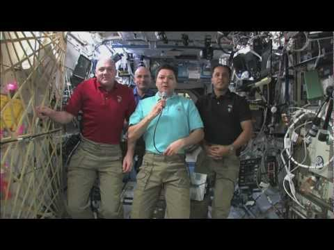 A Special Message to Rio+20 Attendees from the International Space Station
