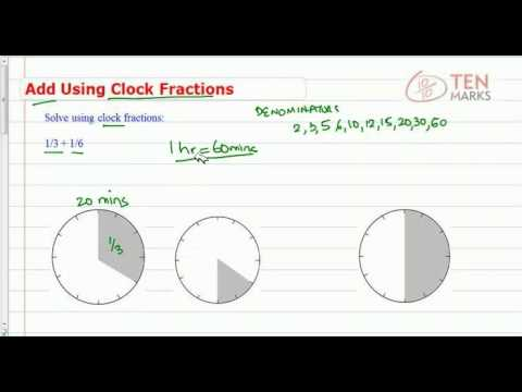 Add Using Clock Fractions
