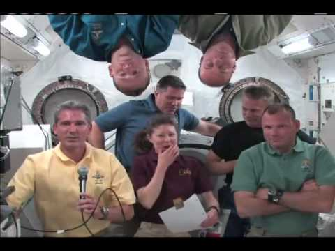 Students Link Up with Space Travelers