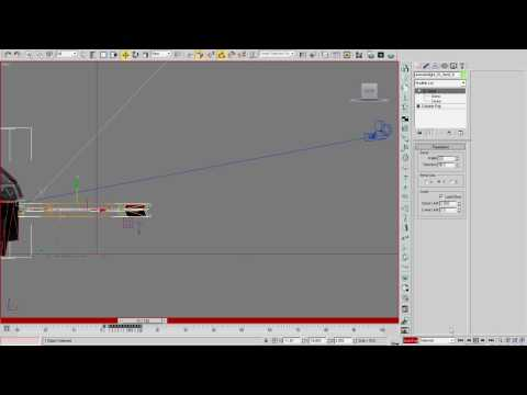3D Studio MAX - Arrow Impact Part 2