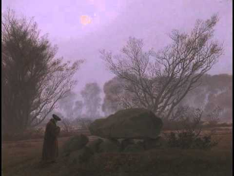 A Walk at Dusk, Caspar David Friedrich