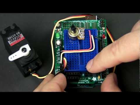How-To Tuesday: Arduino 101 potentiometers and servos