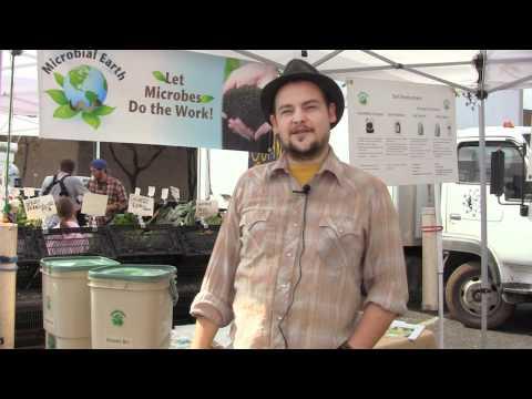 Farmers Market and Local Grown Food 3, Corrina Visits Barton Creek Farmers Marker