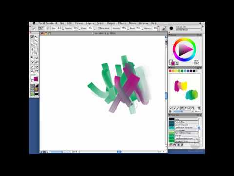 Painter, Wacom: The Mixer palette: Traditional color mixing | lynda.com