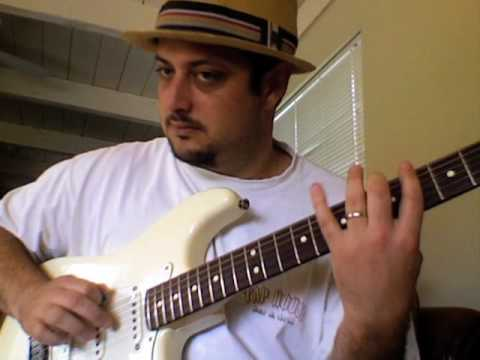 Learn how to play blues lead guitar create licks practice - Mixolydian and Blues Study Part 3