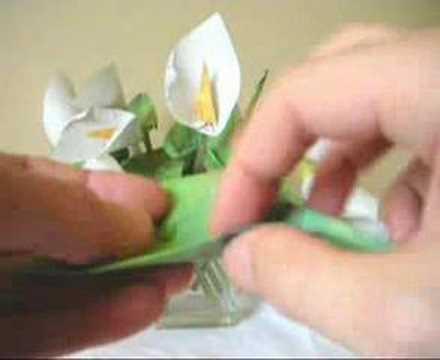 Origami Arum Lily