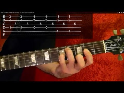 THE RAIN SONG ( Guitar Lesson ) by LED ZEPPLEIN ( 1 of 3 ) With Tabs
