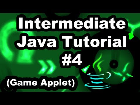 Learn Java 2.4- Game Applet- Double Buffering
