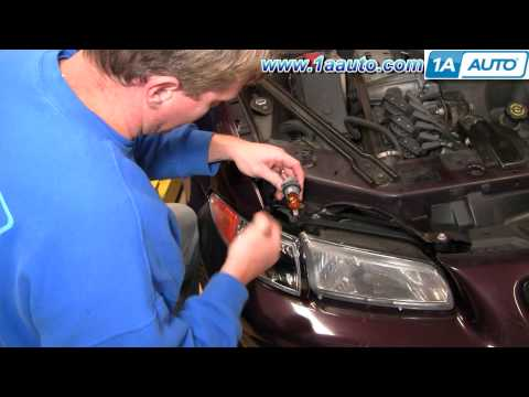 How To Install Replace Parking Light 97-03 Pontiac Grand Prix 1AAuto.com