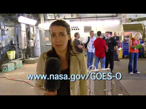 NASA |  Behind the Scenes at the GOES-O Launch Pad