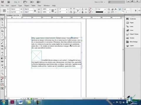 InDesign CS6 Tutorial: Anchoring Objects with Text - Part 1