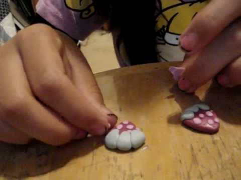 how to make a cute strawberry out of sculpey clay