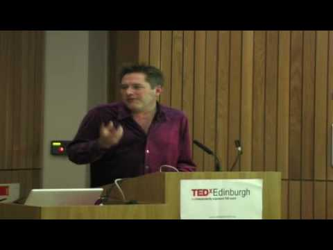 TEDx Edinburgh -   Edward Hibbert - 11/26/09