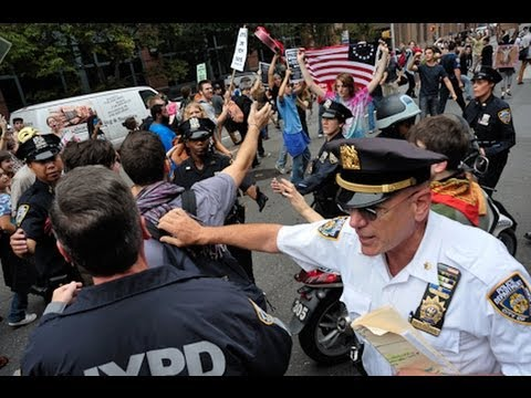 Wall Street Protests Heat Up