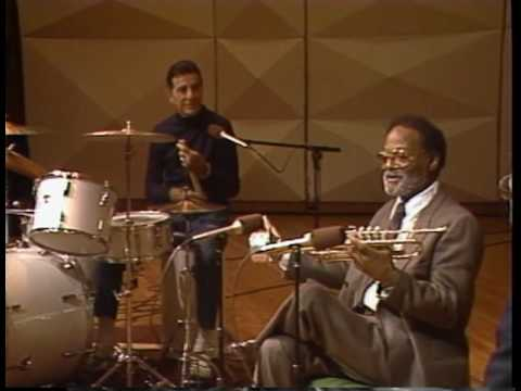 Clark Terry and Louie Bellson:  Improv Workshop