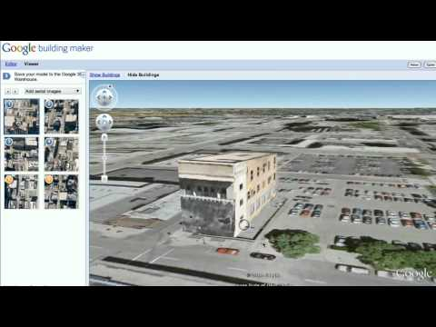 Street View in Building Maker
