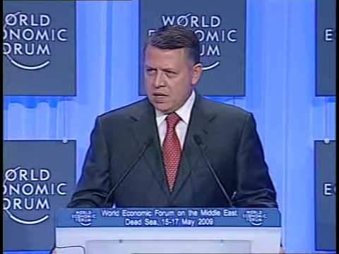 Middle East 2009 - King Abdullah II
