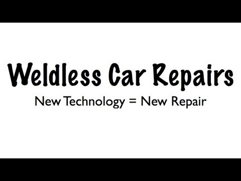 Weldless Car Repair - Structural Repairs Without Welding - New Car Technology
