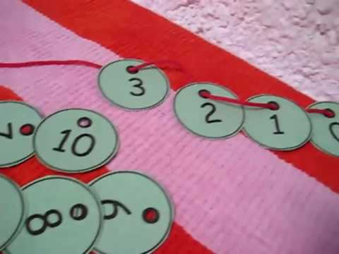 Toddler - Math. Numbers lacing
