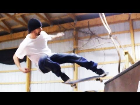 How to Skateboard with Bam Margera: Ramp Tricks / Ollie Fakie