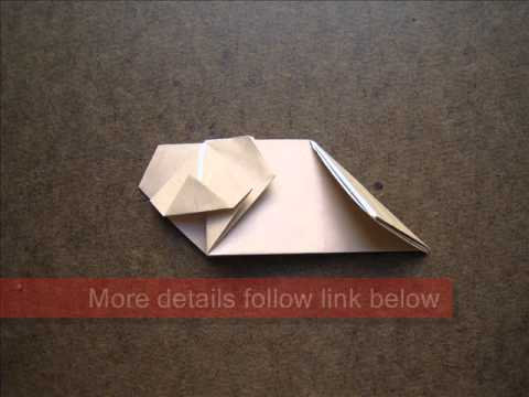 How to Fold Origami Koala - OrigamiInstruction.com
