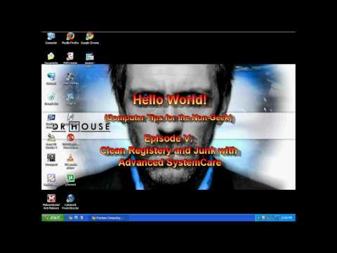 Episode VII: Registry Repair / Optimize Tool (Systemcare) on Windows XP / Vista / 7 | Hello World!