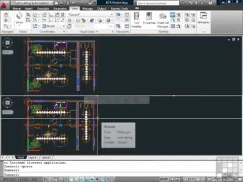 AutoCAD Viewports and Paper Space in Model Space