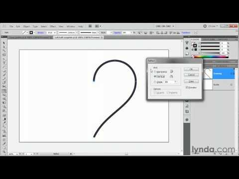 Illustrator: How to use the Reflect tool | lynda.com tutorial