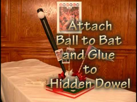 How to Make This Enhanced Do It Yourself Baseball Sports Theme Centerpiece