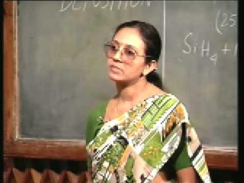 Lecture - 29 Plasma Deposition Process