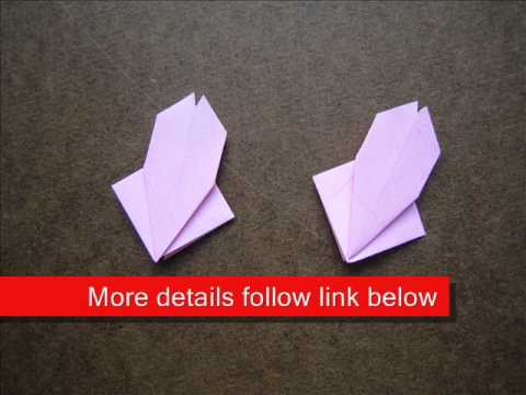 How to Fold Origami Modular Cherry Blossom - OrigamiInstruction.com
