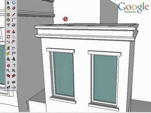 Google SketchUp Toolbar Series: Follow Me