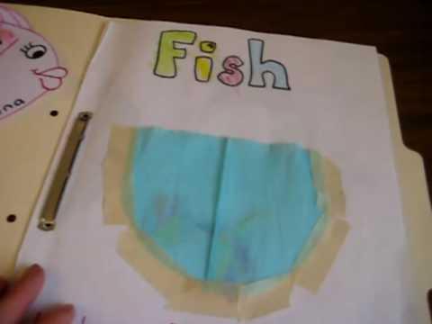 Preschool - Science. Fish folder
