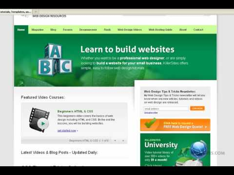 Making your websites stickier