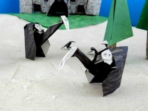 Origami Grim Reaper