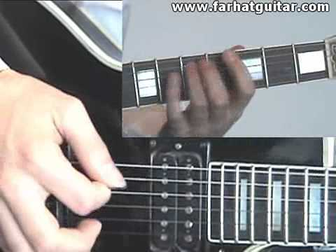 Enter sandman Metallica Guitar Cover Part 2-3-4 www.Farhatguitar.com