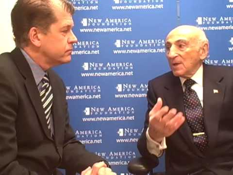 Steve Clemons and Bernard L. Schwartz