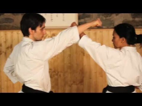 Karate Moves: Upper Blocks