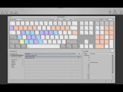 Aperture 2 Tutorials : 1.2 Introduction - Customizing the keyboard