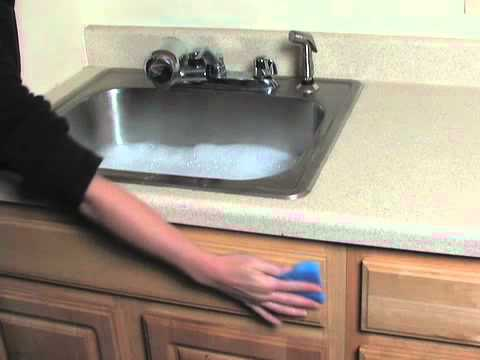 How to Clean Wooden Cabinets
