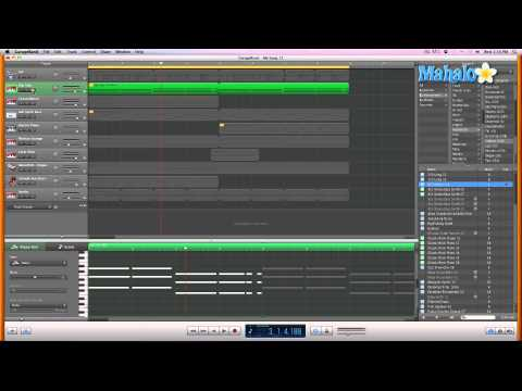 Learn GarageBand in 30 Days: Track Editor for MIDI - Pitch