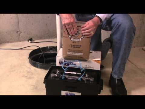 How To Fill The Basement Watchdog Sump Pump Battery - The Home Depot