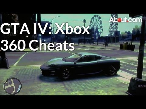 Xbox 360 Cheat Codes for Grand Theft Auto IV