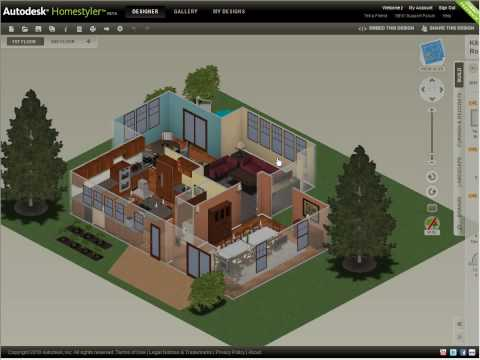 Autodesk Homestyler — Share Your Design (2010)