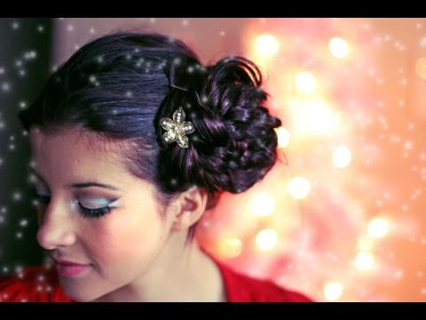 Holiday Lights Hair & Makeup