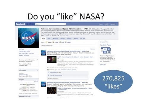 Tweets In Space: How NASA Uses Social Media