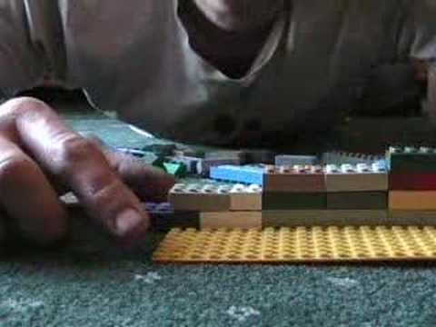 The structure of Dance music in Lego?Thanks to SILVIALAIN,