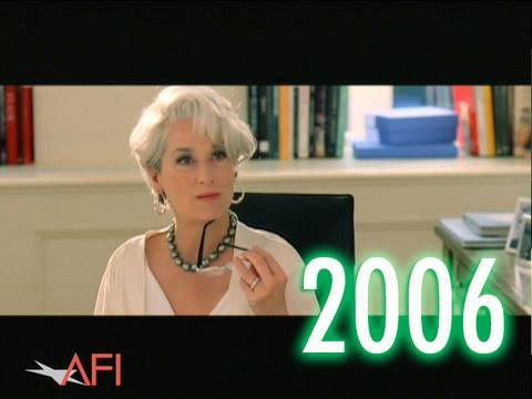 AFI Awards 2006 Montage