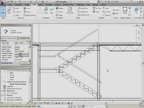 InfiniteSkills Tutorial | Revit Structure 2012 Training - Editing the Stair